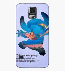 Funda/vinilo para Samsung Galaxy Lilo & Stitch ~ Ohana