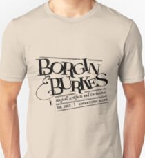Borgin & Burkes (in black) Unisex T-Shirt