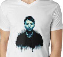 Thom Yorke Mens V-Neck T-Shirt