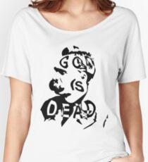 """Friedrich Nietzsche - """"God is Dead"""" Women's Relaxed Fit T-Shirt"""