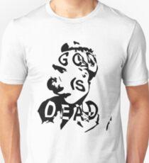 """Friedrich Nietzsche - """"God is Dead"""" Unisex T-Shirt"""