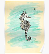 seahorse Poster