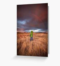 Rainbow Child Greeting Card