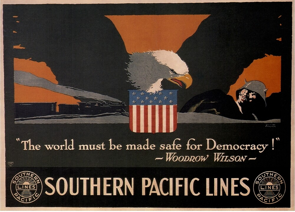 Vintage poster - Southern Pacific by mosfunky