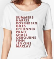 Buffy The Vampire Slayer All Business Surnames Women's Relaxed Fit T-Shirt