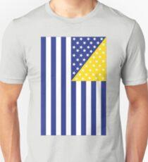 US Flag Bosnia Unisex T-Shirt