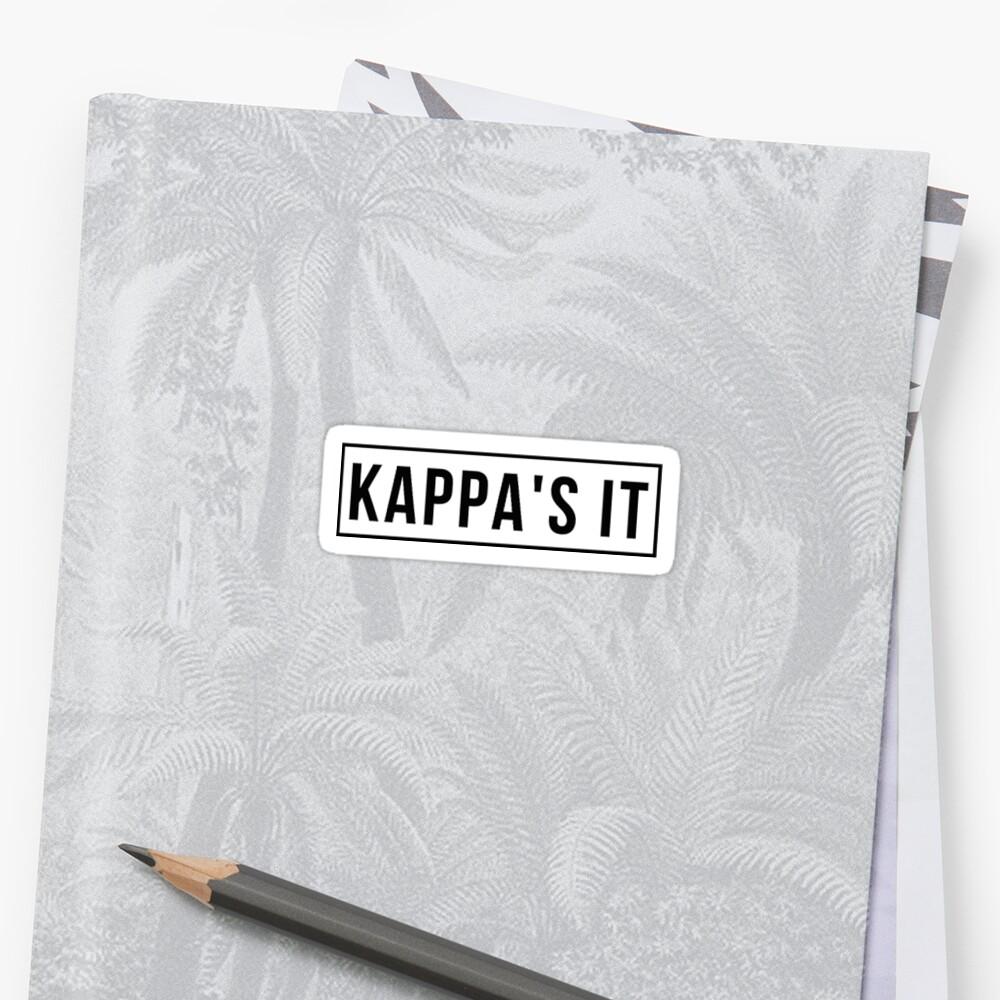 Kappa's It by Alex J