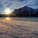 Mount Michener and the Sunburst by James Anderson