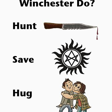 What Would a Winchester Do? WWWD by Amberdreams