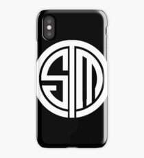 Team SoloMid Logo (WHT) iPhone Case/Skin