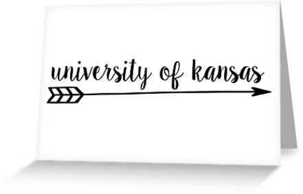 University of Kansas Arrow by emifrohn