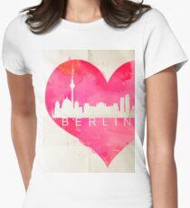 Berlin Women's Fitted T-Shirt