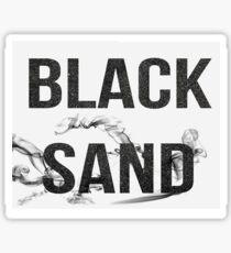 Black Sand Band shirt  Sticker