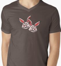 Mushy Snugglebites & Felicia Sexopants- Borderlands 2 Men's V-Neck T-Shirt