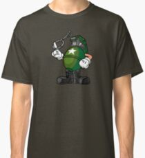 Marcus Munitions Grenade - Borderlands 2 Classic T-Shirt