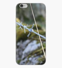 Barbed Wire fence iPhone Case