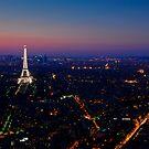 Paris Sunset by eic10412