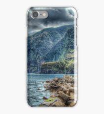 Seixal Bay at Madeira Island iPhone Case/Skin
