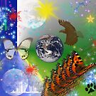 Earth Day/Spring Has Sprung  by WildestArt