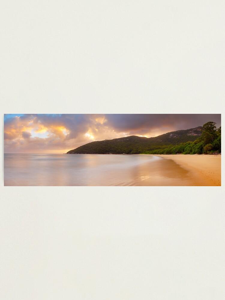 Alternate view of Sealers Cove Awakens, Wilsons Promontory, Victoria, Australia Photographic Print