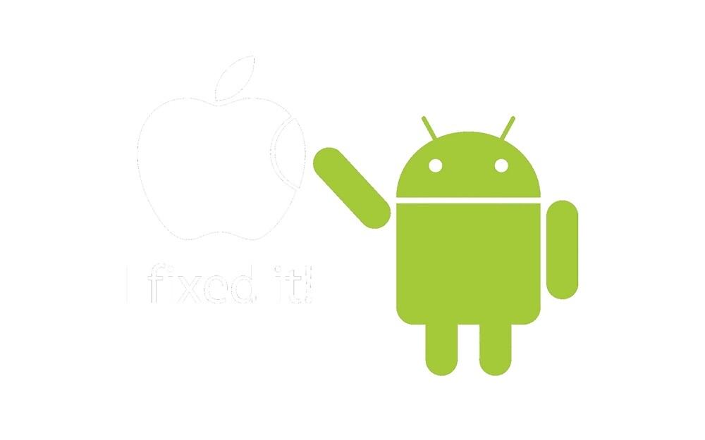 """I Fixed It"" - Android vs Apple by GMFV"