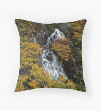 Fagus Falls Throw Pillow