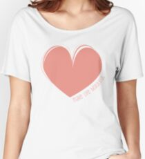 Hearty Heart Heart  Women's Relaxed Fit T-Shirt