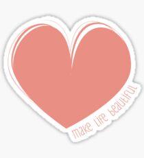 Hearty Heart Heart  Sticker
