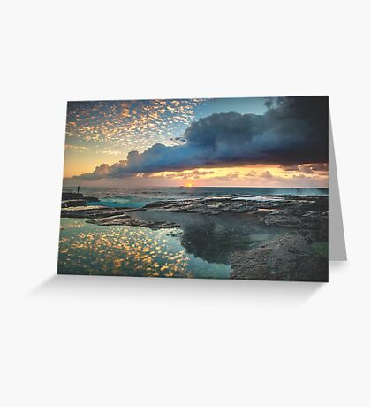 Impact on the Shore Greeting Card
