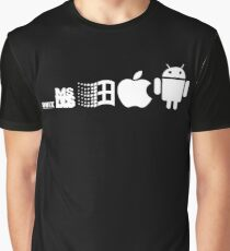 android evolution Graphic T-Shirt