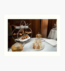Afternoon Tea in Central London Art Print