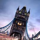 Tower Bridge - Evening Life London by eic10412