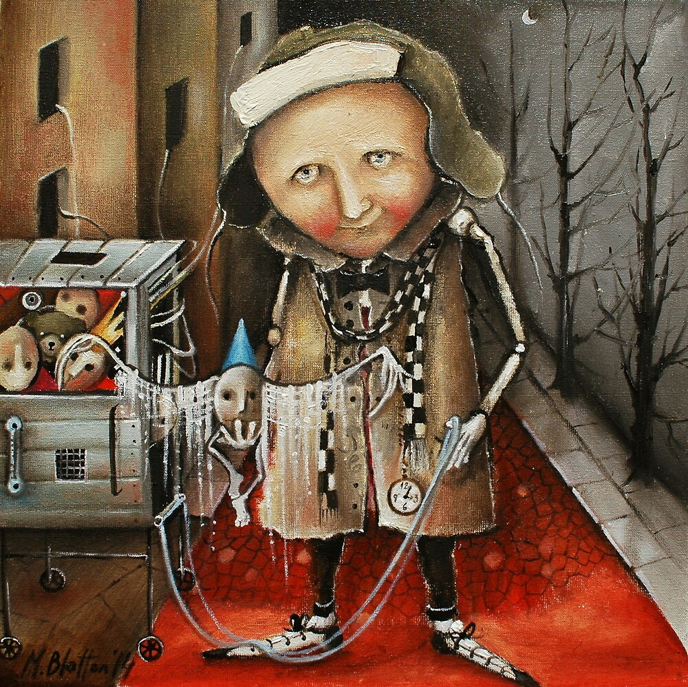 Thief Of Dreams by Monica Blatton
