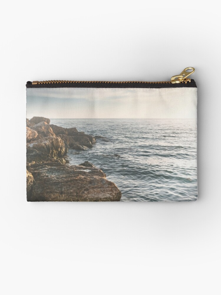 Ocean (Rocks Within the Misty Blue) by Terri  Ellis