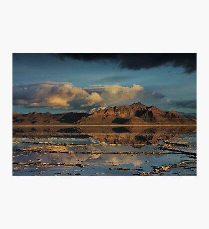 Across the Salt Photographic Print