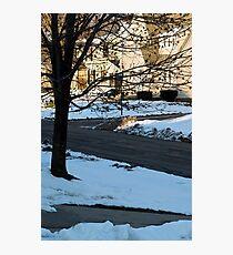 Snow in the Neighborhood Photographic Print