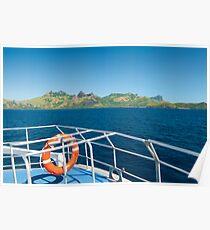 Fiji Island Transfer Poster