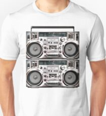 Two Retro Boomboxes T-Shirt