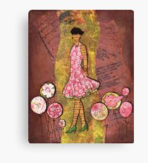 Paper Doll 1 Canvas Print