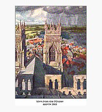 Views of York from the Minster Photographic Print