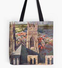 Views of York from the Minster Tote Bag