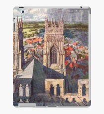 York Views from York Minster iPad Case/Skin