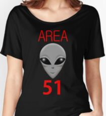 AREA 51 Women's Relaxed Fit T-Shirt