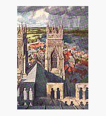 York from the Minster Photographic Print