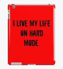 Living Life iPad Case/Skin