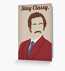 Classy greeting cards redbubble the legend greeting card m4hsunfo