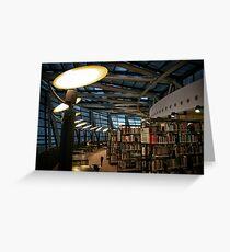 Library Dortmund Greeting Card