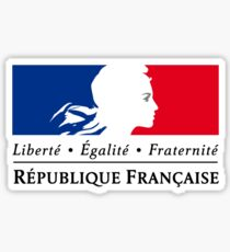 Symbol of the French Government  Sticker