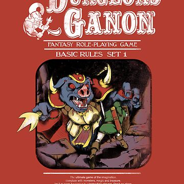 Dungeons and Ganon by JKTees