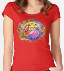 Gold & Silver Women's Fitted Scoop T-Shirt